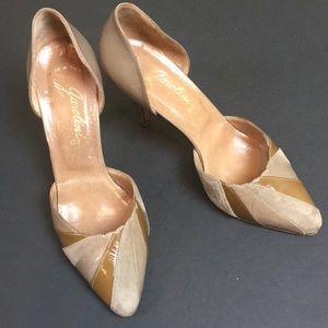 Garolini Vintage Tan Heels - Size 6